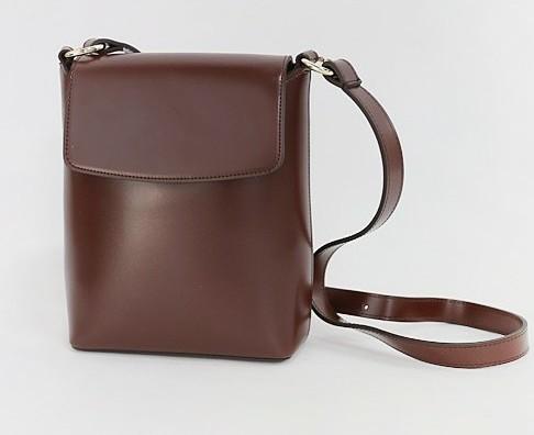 Tidy square shoulder bag
