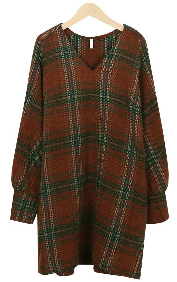 Hayden Check Dress
