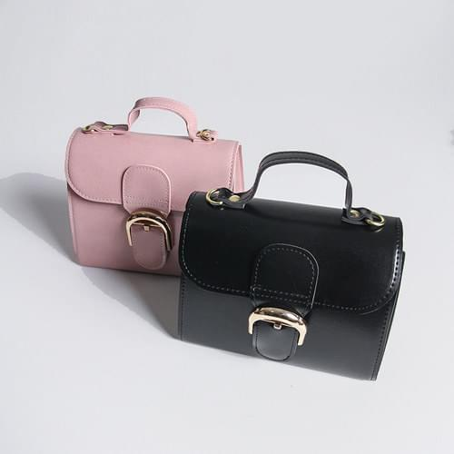 Muse Buckle Cross & Dot Bag