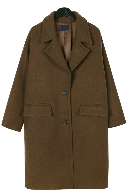 Standard single wool coat