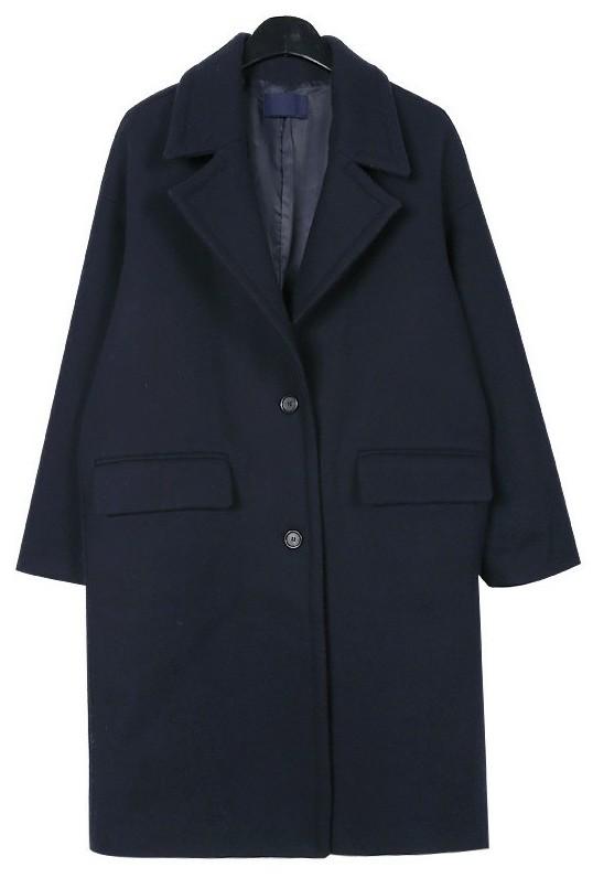 Standard single wool coat
