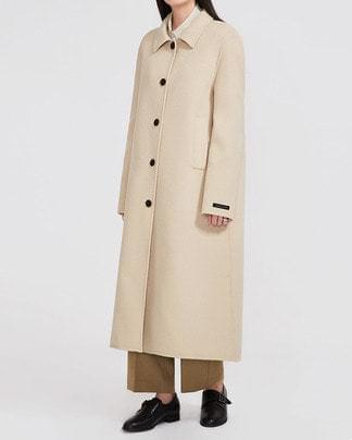 trendy girl handmade coat (wool90%)
