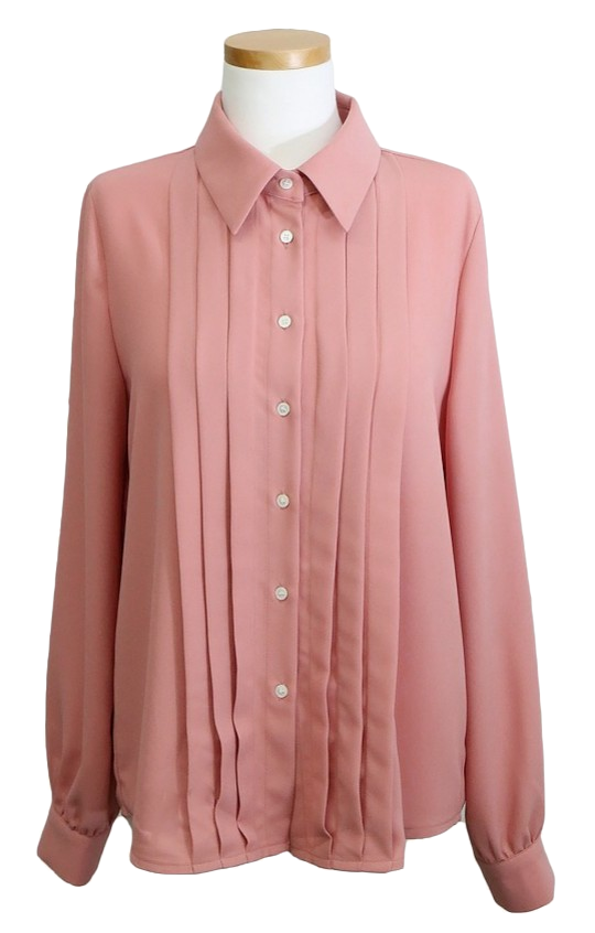 ♥ Royal Pinch Ribbon Blouse