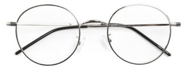 coles round frame glasses