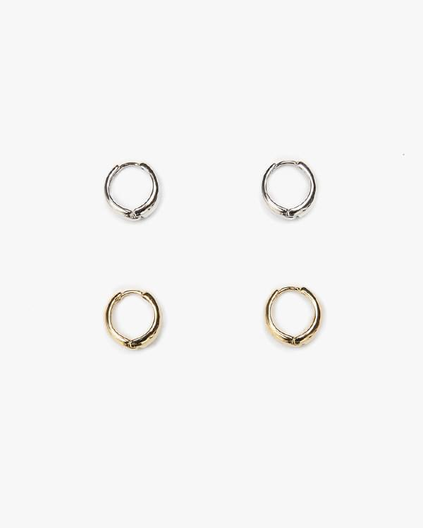 simple ring earring