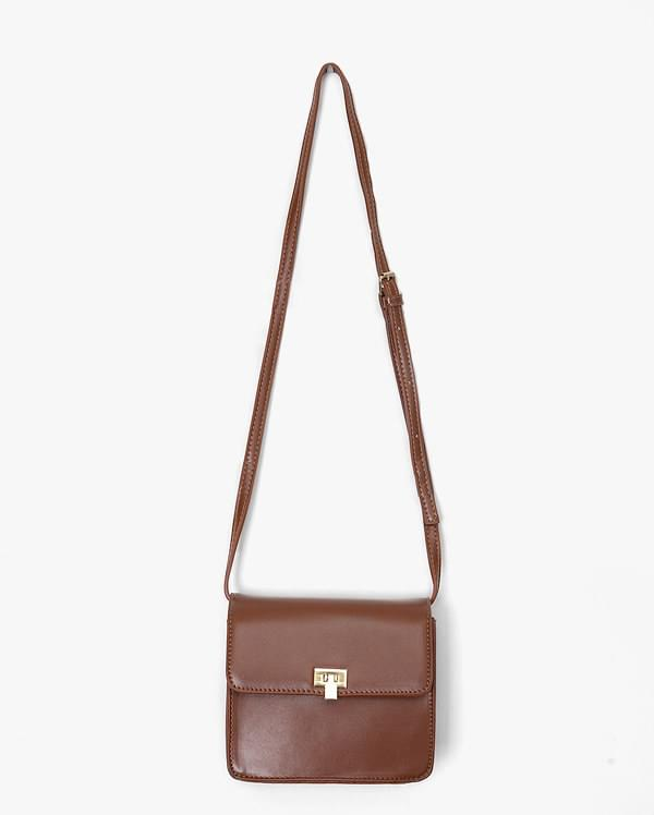 square mini buckle bag