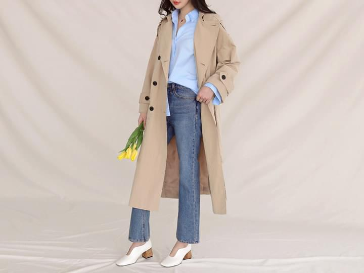 LACIE BELT TRENCH COAT