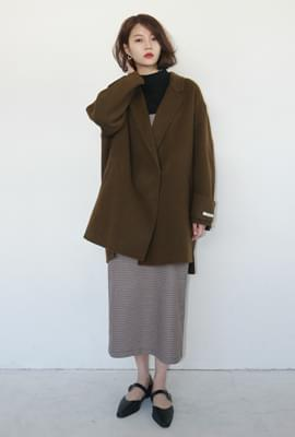 Slit point handmade half coat