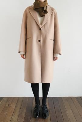 Pink handmade single coat