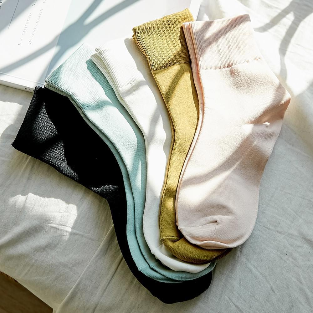singel pastel socks