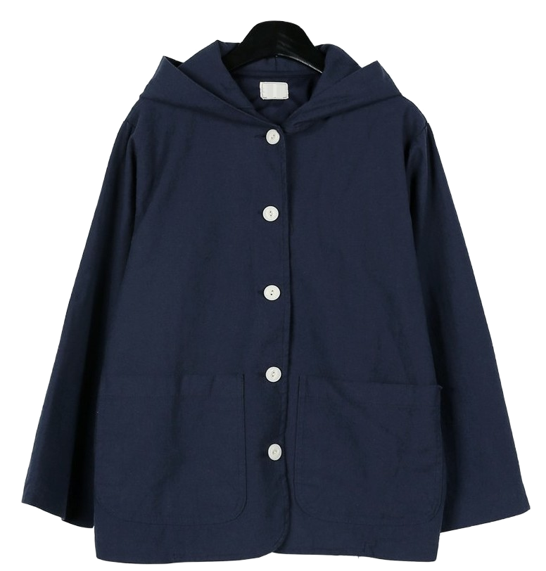 Vintage cotton hood jumper
