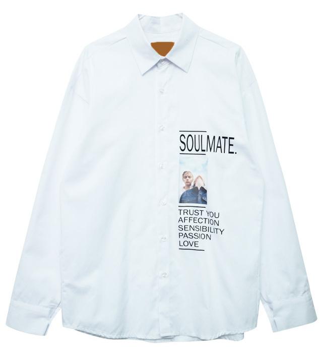 소울메이트 전사 셔츠 (nb487)