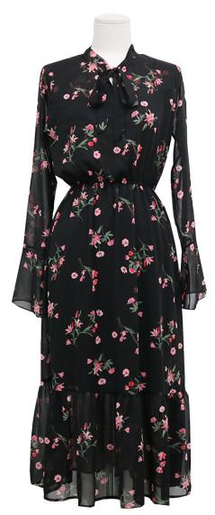 Petunia - Chiffon Long Dress
