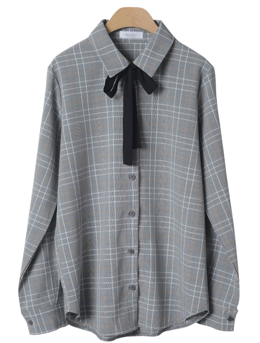 Richard Check Blouse