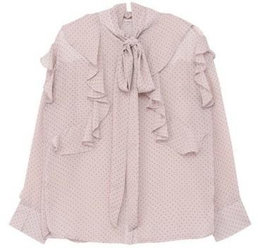 Barbie dot blouse