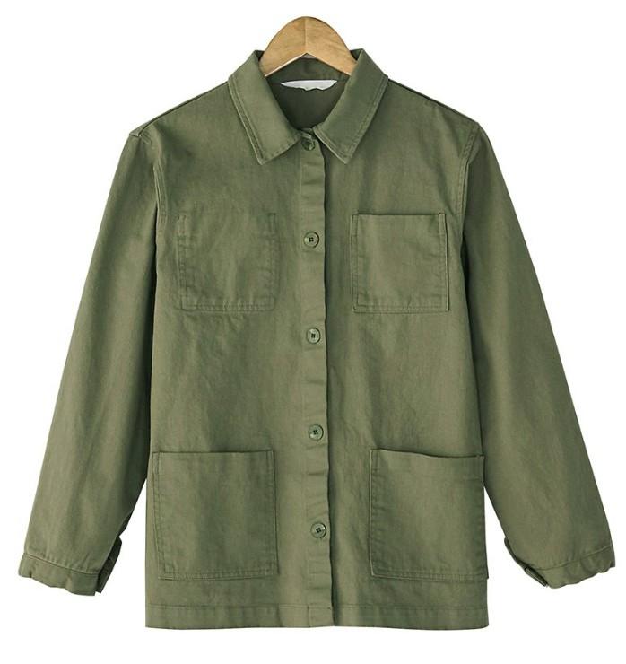 basic cotton jacket