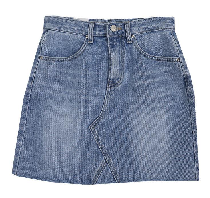 Reformed denim skirt
