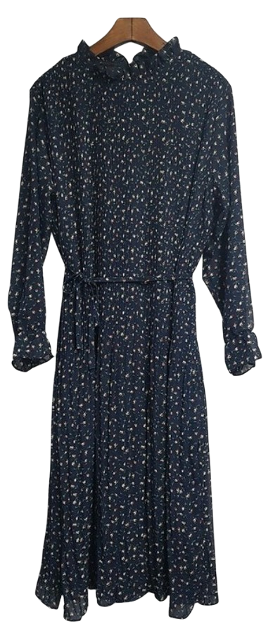 Rose Chiffon Dress - 3 color
