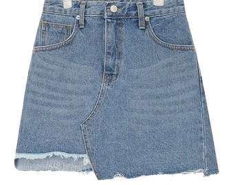 unbalance cutting skirt (s, m)