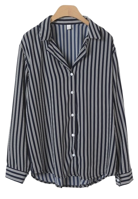 Vienna Striped Blouse