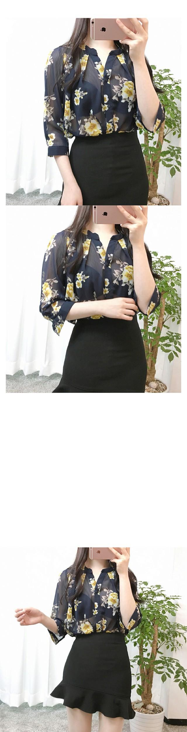 Sweet flower blouse