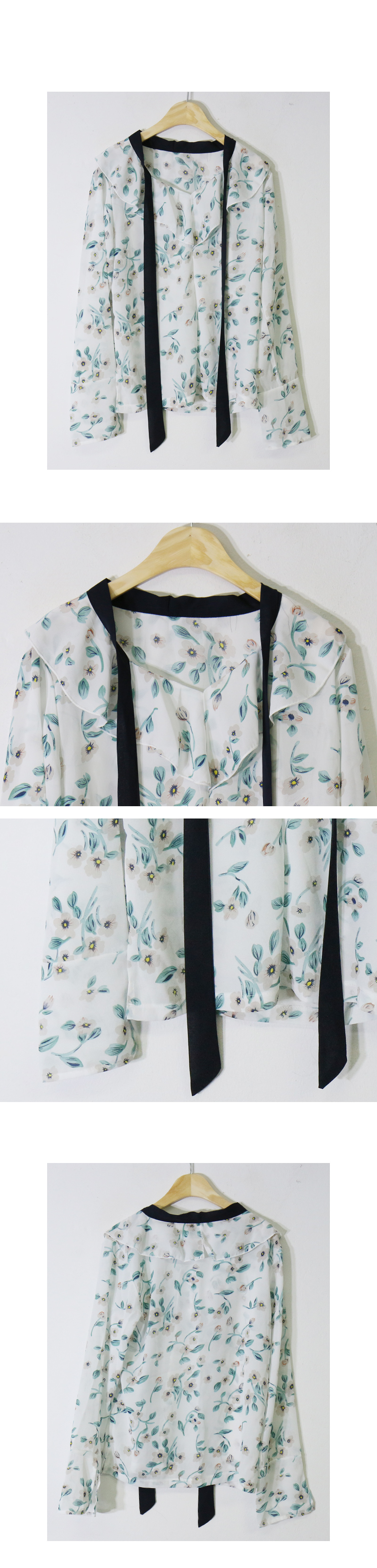 Specials ♥ Emerald Flower Blouse