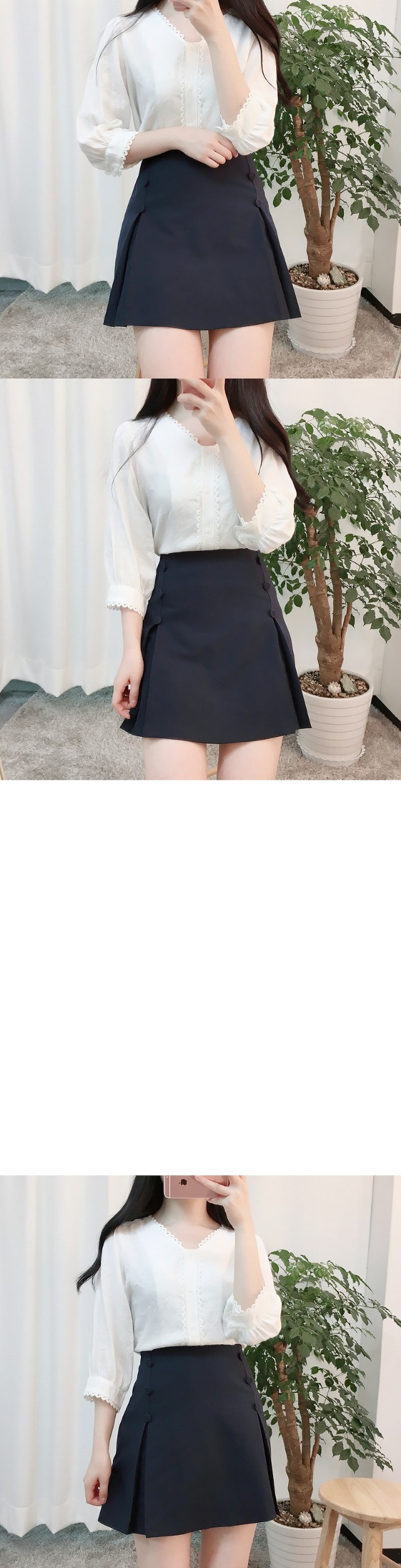 Miel lace blouse