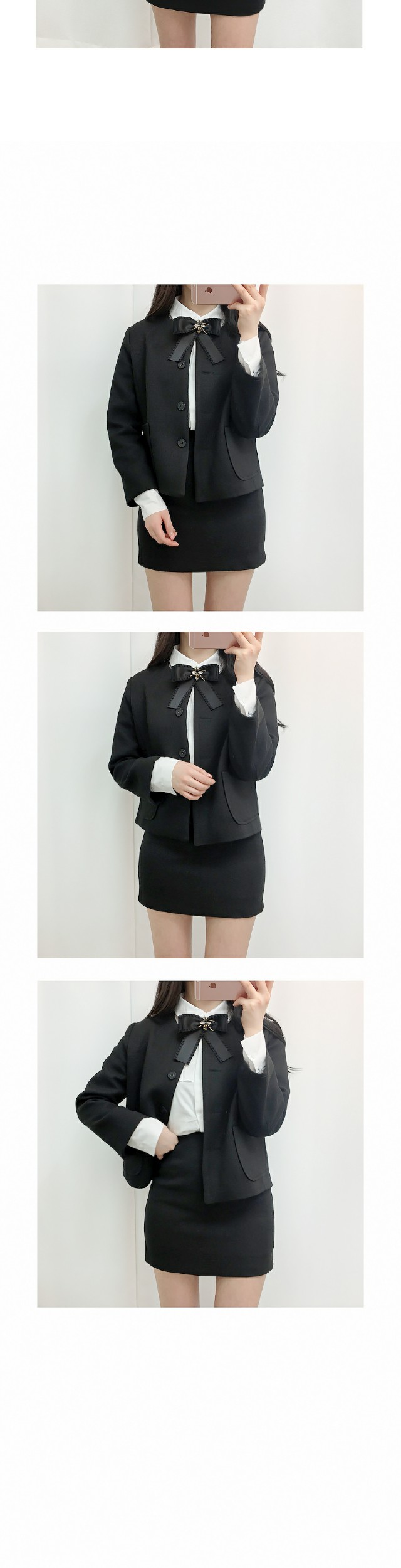 Event discount ♡ opening two piece / jacket + skirt set