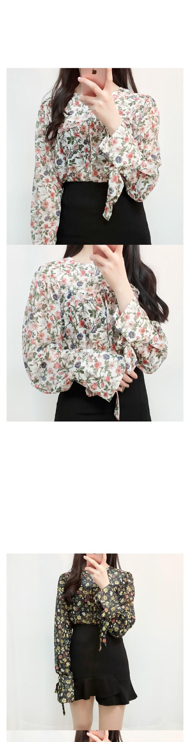 McQueen Flower Blouse