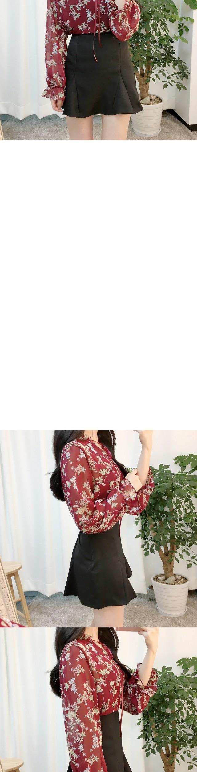 Muse Ribbon Flower bl