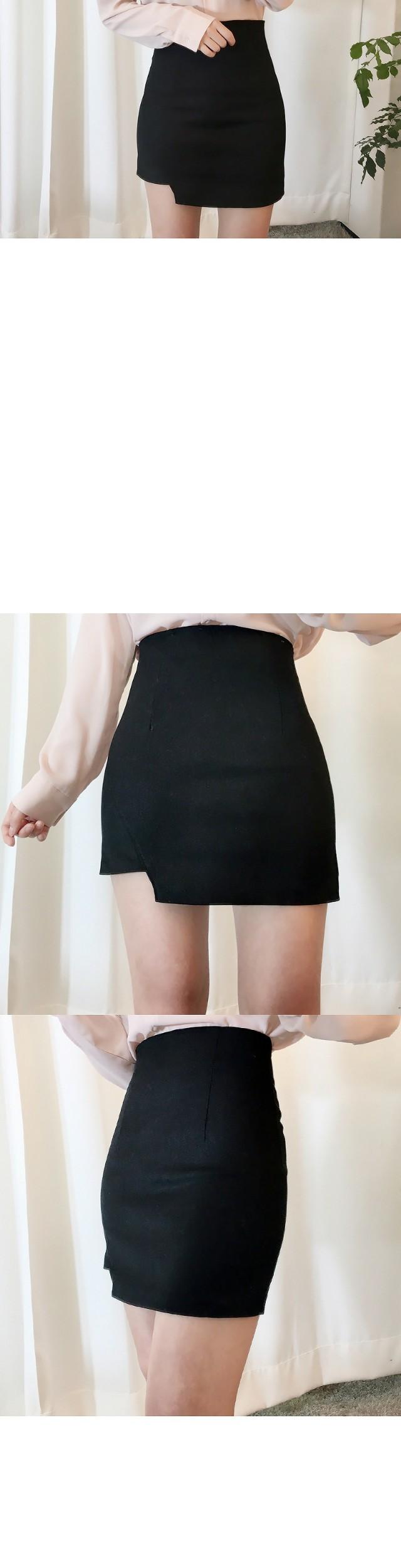 A half-skirt skirt