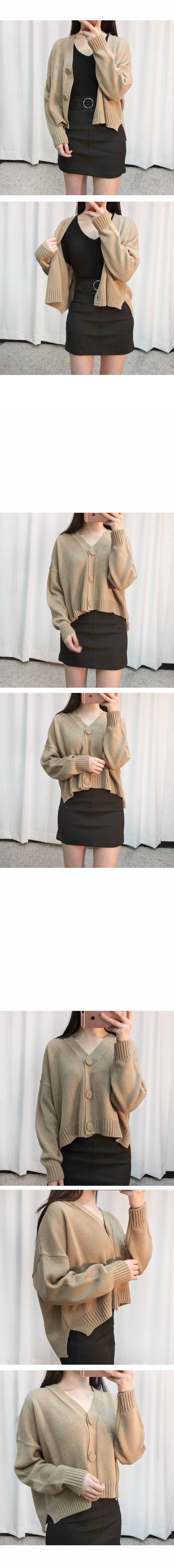 Button cardigan