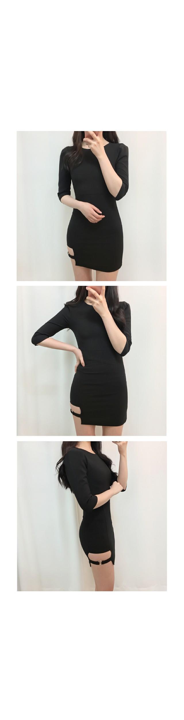 Spring version ♥ Garter belt ring dress