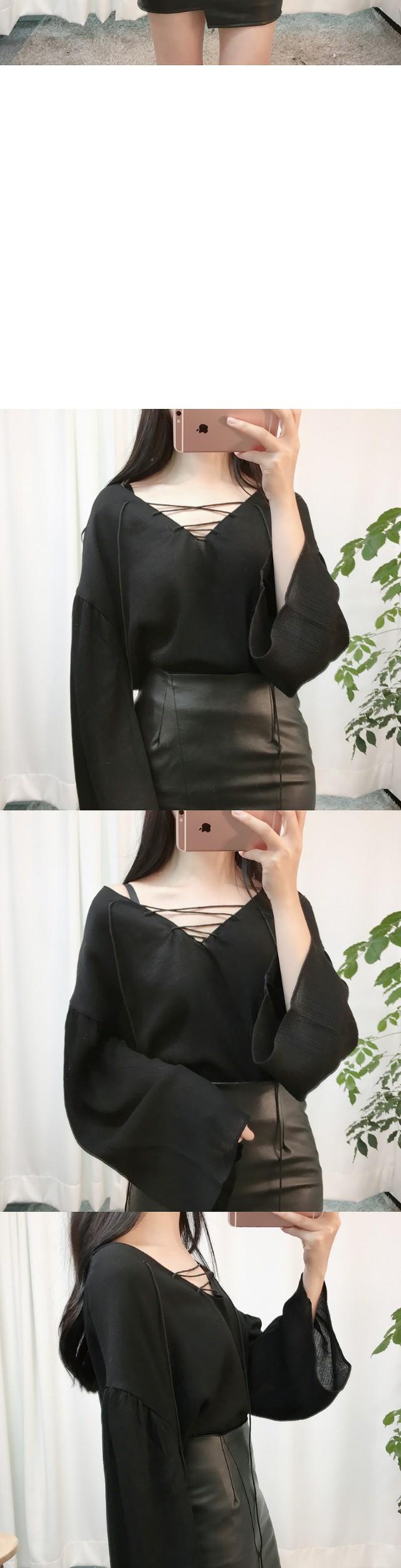 Leather Uncut Skirt