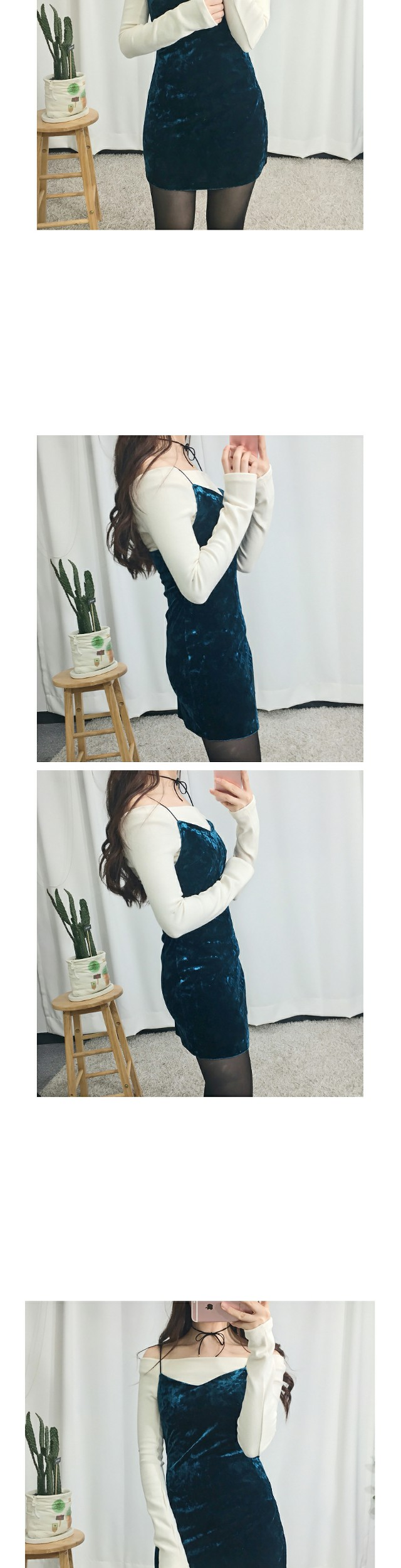 Velvet Slab Dress One-Year-Old Look, Recommended by Patrick ♥