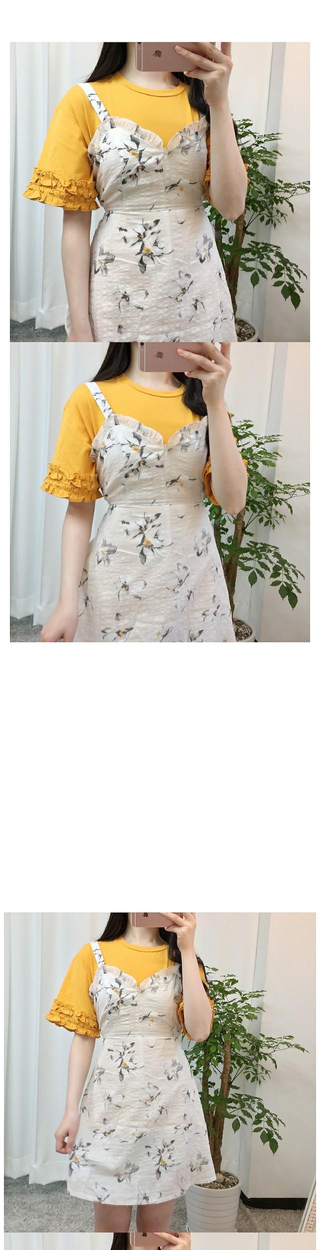 Rubber bustier dress