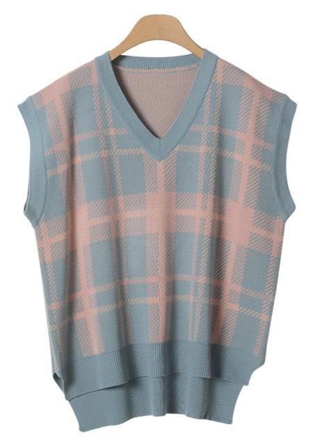 Bestselling Check Knit Vest
