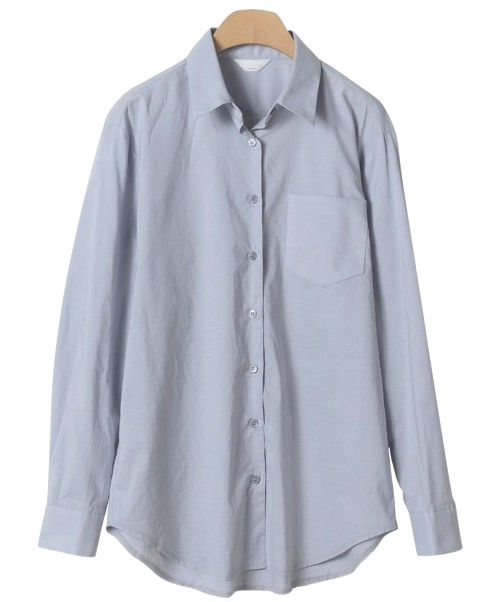 History simple collar shirt