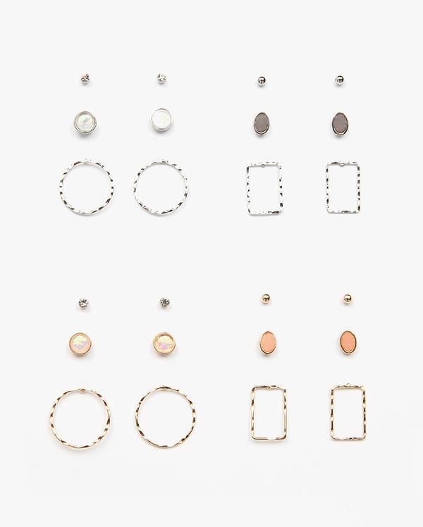 jewel pastel earring set