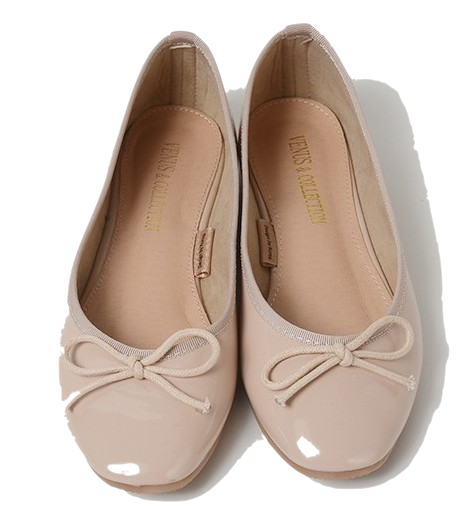 Coco ribbon flat shoes