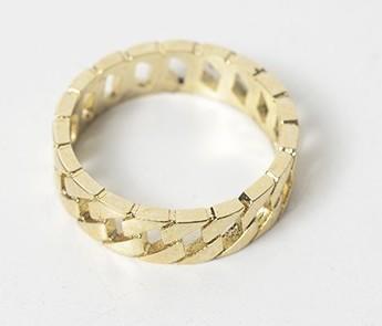 Glitter 4-piece ring SET
