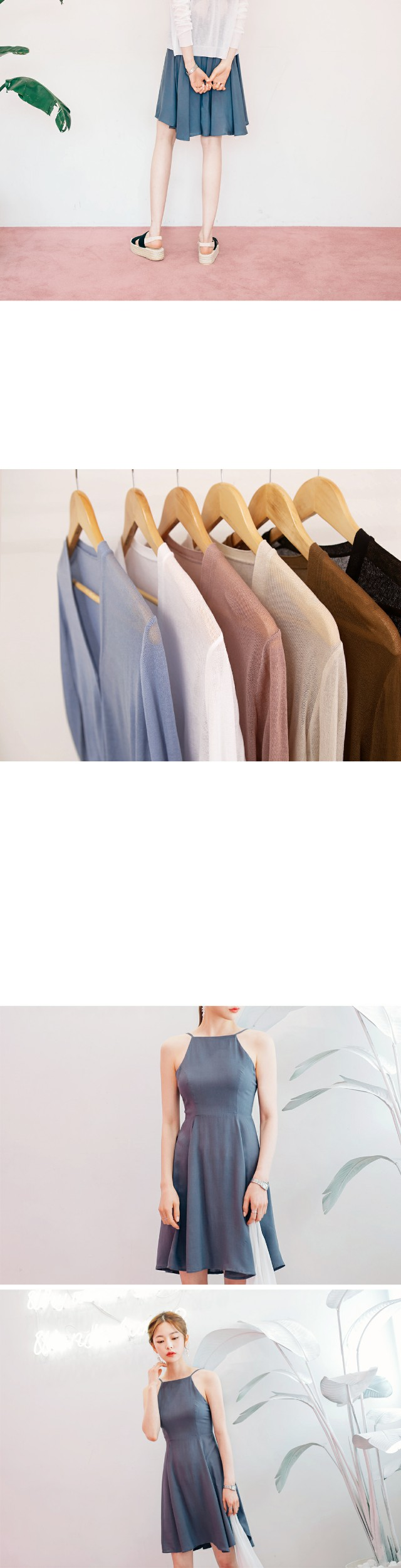 6 COLOR BASIC V-NECK CARDIGAN