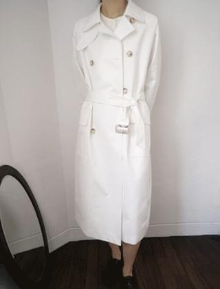 over silhouette double trench (3colors)