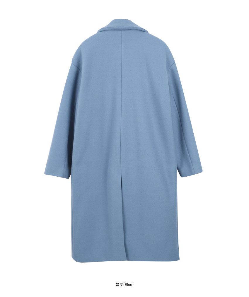 Daily Simple Wool Coat