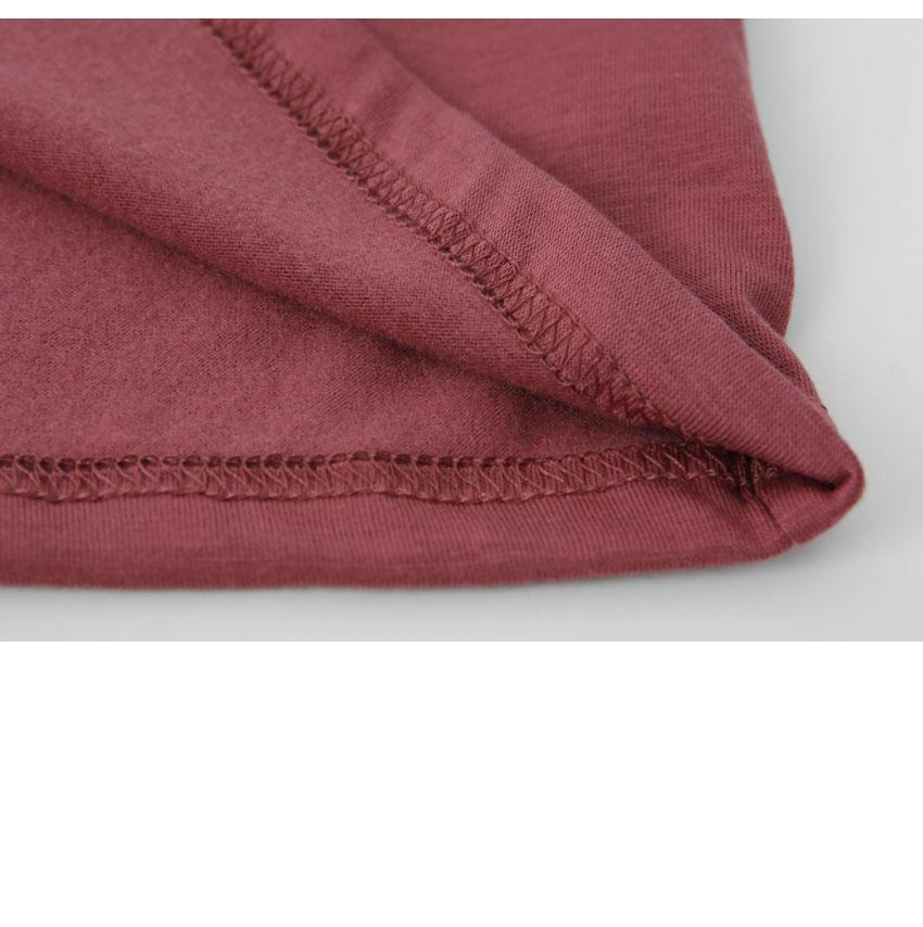 얇은 속기모 폴라 티(1+1가격)(6color)