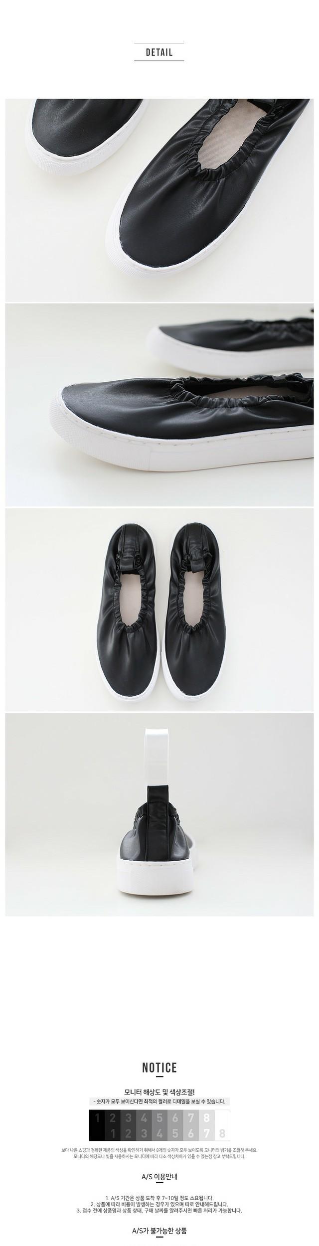 Feet Bending Slip-On 2.5cm