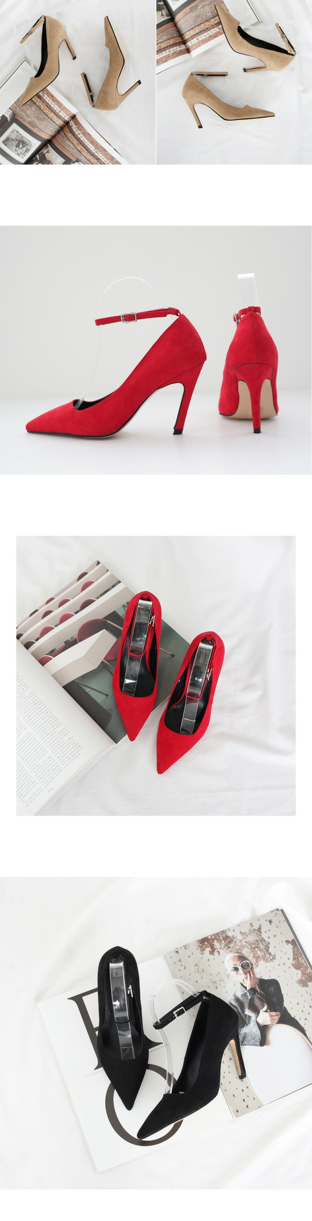 Milan Mary Jane Stiletto Heel 9cm