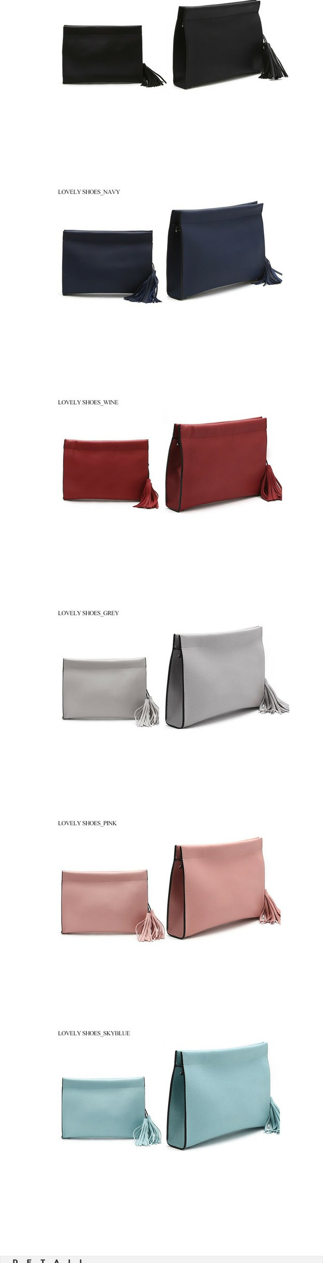 Simpl clutch bag