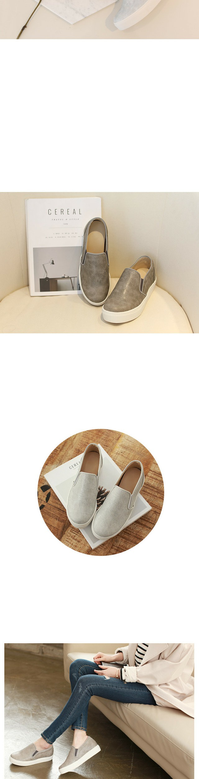 Mini aisle slip-on 5cm