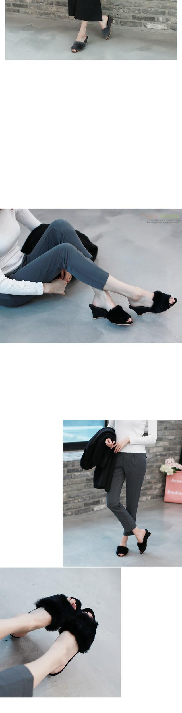 Jaradipur Wedge Slippers 6cm